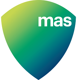MAS Logo Shield Gradient